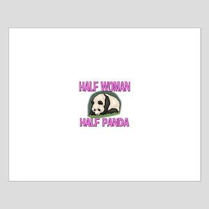 Half Woman Half Panda Small Poster