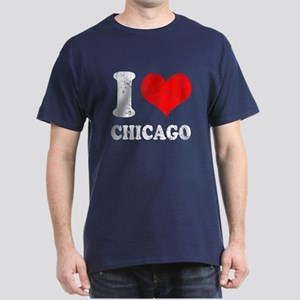 I heart Chicago Dark T-Shirt