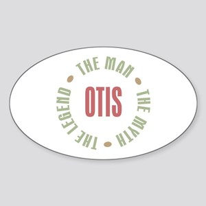 Otis Man Myth Legend Oval Sticker
