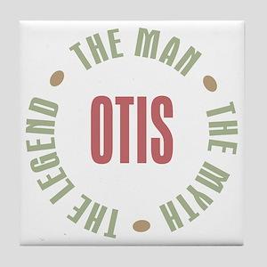 Otis Man Myth Legend Tile Coaster
