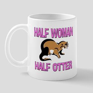 Half Woman Half Otter Mug