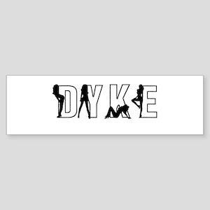 Dyke Women Bumper Sticker