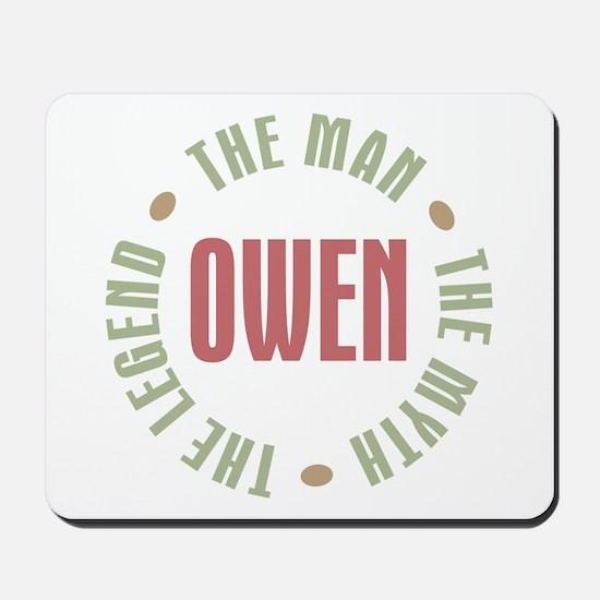 Owen Man Myth Legend Mousepad