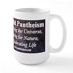 World Pantheist Movement Large Mug