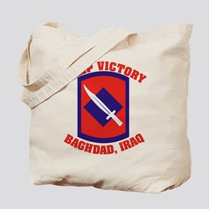 CAMP VICTORY Tote Bag