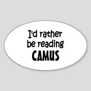 Camus Oval Sticker