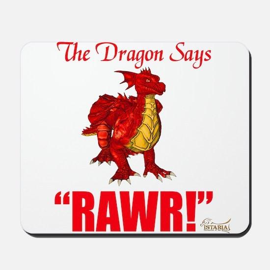 RAWR Mousepad