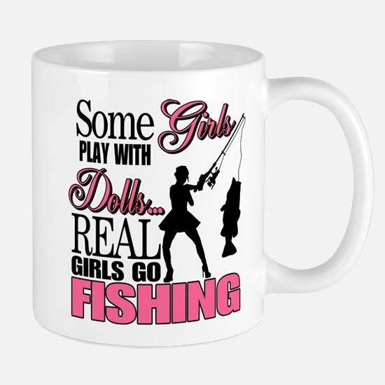 Real Girls Go Fishing Mug
