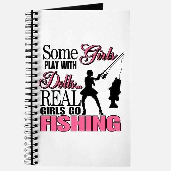 Real Girls Go Fishing Journal