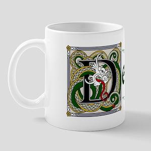 Dempsey Celtic Dragon Mug