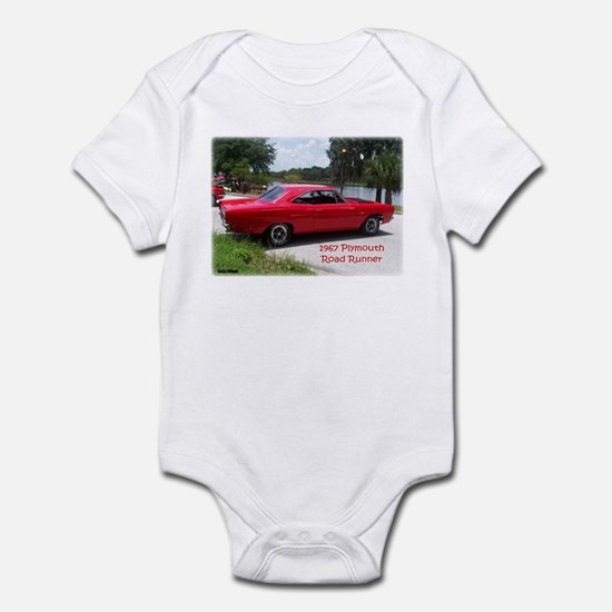 1967 Plymouth Road Runner Infant Bodysuit