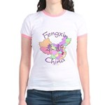 Fengxin China Map Jr. Ringer T-Shirt