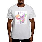 Fenyi China Map Light T-Shirt