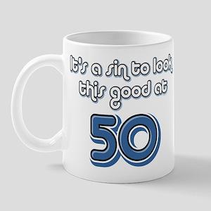 Sinful 50th Birthday Mug