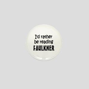 Faulkner Mini Button