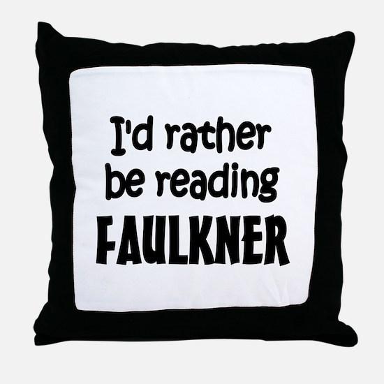 Faulkner Throw Pillow