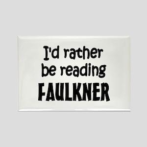 Faulkner Rectangle Magnet