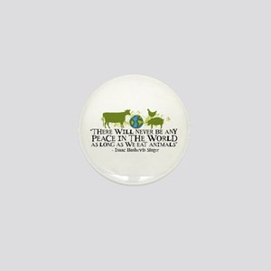 Never Be Peace - Wide Mini Button