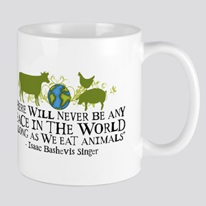 Never Be Peace - Wide Mug