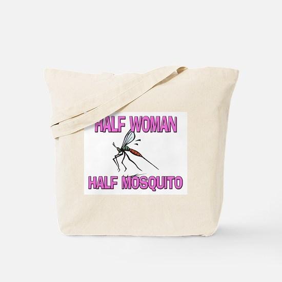 Half Woman Half Mosquito Tote Bag