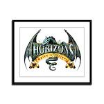 Classic Dragon Logo Framed Panel Print