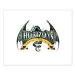 Classic Dragon Logo Small Poster
