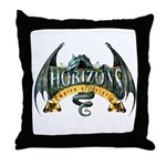 Classic Dragon Logo Throw Pillow