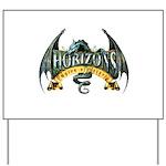 Classic Dragon Logo Yard Sign