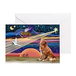 Xmas Star Nova Scotia Greeting Card