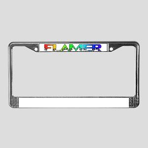 Flamer License Plate Frame
