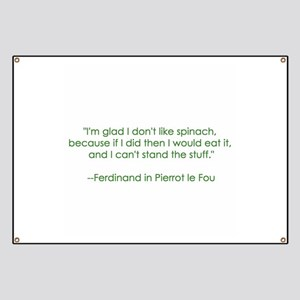 Spinach Quote Banner