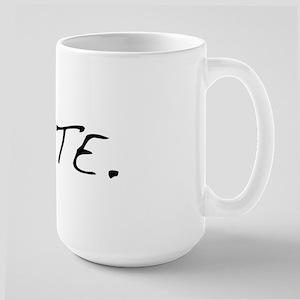 Vote. Large Mug