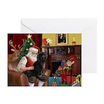 Santa's PWD Greeting Cards (Pk of 10)