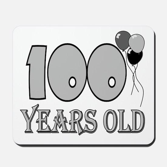 100th Birthday GRY Mousepad