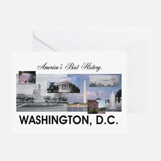Washington Americasbesthistory.com Greeting Card