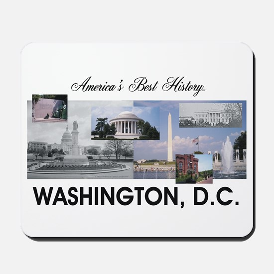 Washington Americasbesthistory.com Mousepad