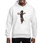 BT Lederhosen Doxie Hooded Sweatshirt