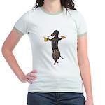 BT Lederhosen Doxie Jr. Ringer T-Shirt