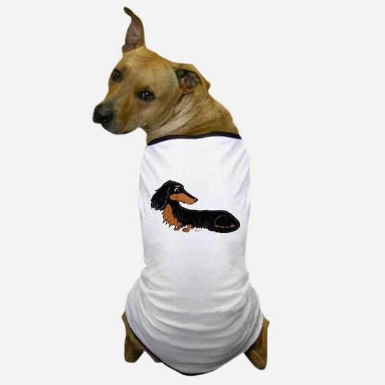 Black Tan Dachshund Dog T-Shirt