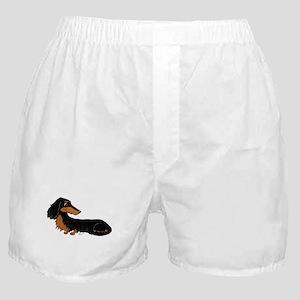 Black Tan Dachshund Boxer Shorts