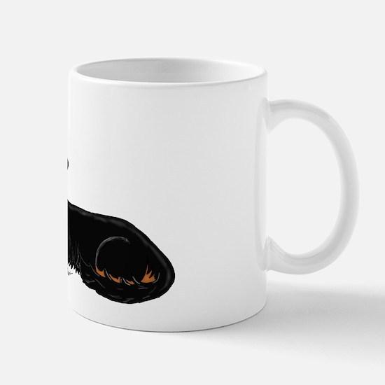 Black Tan Dachshund Mug