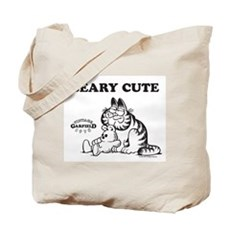 Beary Cute Garfield and Pooky Tote Bag