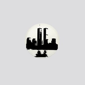 Twin Towers Mini Button
