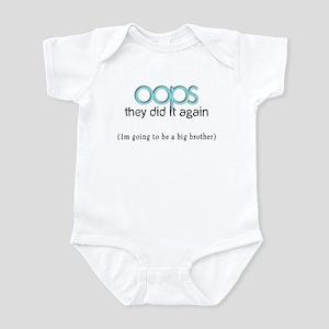 Oops, Big brother. Infant Bodysuit