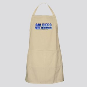 Soldies Need Hummers BBQ Apron