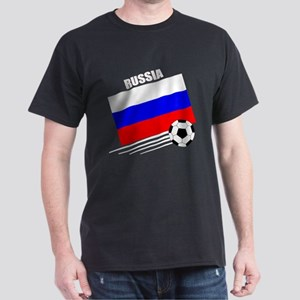 Russia Soccer Team Dark T-Shirt