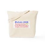 McCain 2008 - Say no to BO Tote Bag