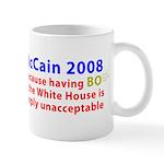 McCain 2008 - Say no to BO Mug