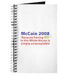 McCain 2008 - Say no to BO Journal
