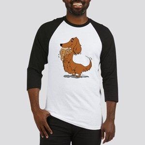 Dachshund and Bear Baseball Jersey